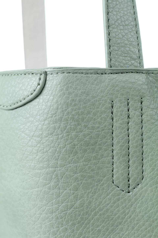 meliebiancoのDenise(Mint)ポーチ付き・リバーシブルトートバッグ/海外ファッション好きにオススメのインポートバッグとかばん、MelieBianco(メリービアンコ)のバッグやトートバッグ。シンプルなキャンバスポーチが付いたシンプルなトートバッグ。ソフトでなめらかなメリービアンコ独自のプレミアムビーガンレザーを使用。/main-7