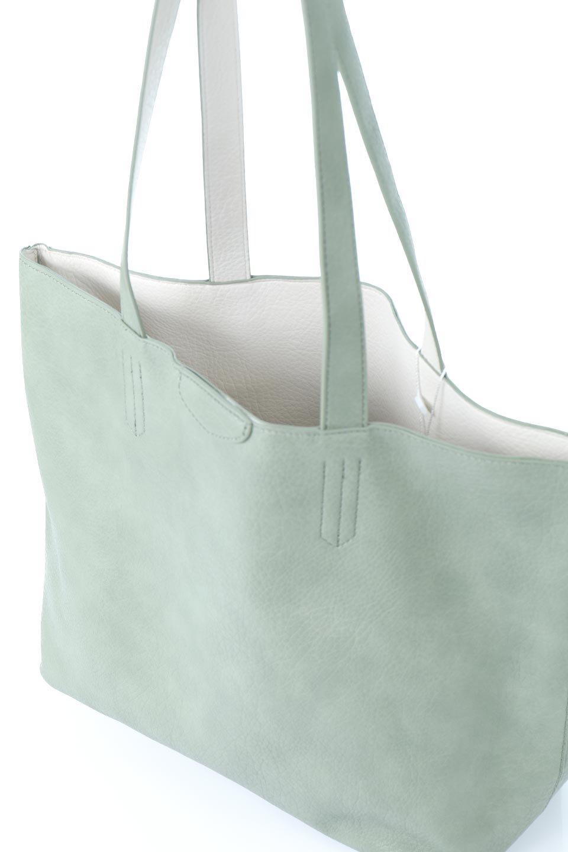 meliebiancoのDenise(Mint)ポーチ付き・リバーシブルトートバッグ/海外ファッション好きにオススメのインポートバッグとかばん、MelieBianco(メリービアンコ)のバッグやトートバッグ。シンプルなキャンバスポーチが付いたシンプルなトートバッグ。ソフトでなめらかなメリービアンコ独自のプレミアムビーガンレザーを使用。/main-9