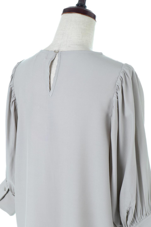 EmbroideredSatinBlouse刺繍入り・サテンブラウス大人カジュアルに最適な海外ファッションのothers(その他インポートアイテム)のトップスやシャツ・ブラウス。胸元のさりげない刺繍が可愛い7分袖のサテンブラウス。センターはしごレースを挟んでいるので高見えするアイテムです。/main-11