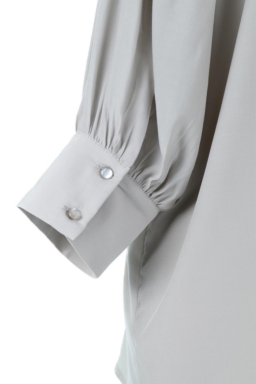 EmbroideredSatinBlouse刺繍入り・サテンブラウス大人カジュアルに最適な海外ファッションのothers(その他インポートアイテム)のトップスやシャツ・ブラウス。胸元のさりげない刺繍が可愛い7分袖のサテンブラウス。センターはしごレースを挟んでいるので高見えするアイテムです。/main-17