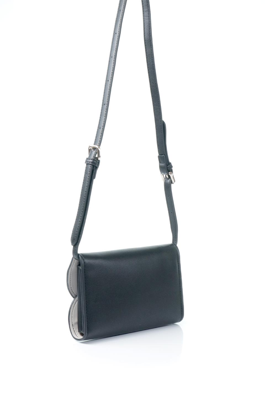 meliebiancoのCleo(Black)2Way・ミニショルダーバッグ/海外ファッション好きにオススメのインポートバッグとかばん、MelieBianco(メリービアンコ)のバッグやショルダーバッグ。スマホ+αでのお出かけにピッタリサイズのショルダーバッグ。キャッシュレスを使いこなす方には嬉しいミニサイズのバッグです。/main-3