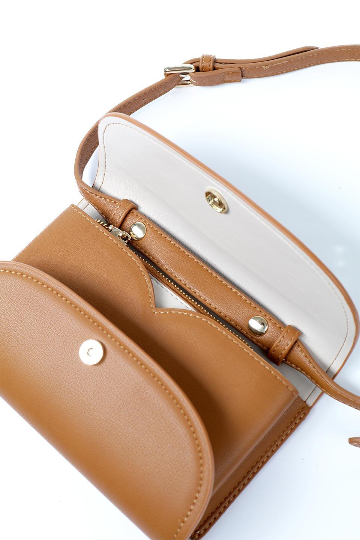 meliebiancoのCleo(Saddle)2Way・ミニショルダーバッグ/海外ファッション好きにオススメのインポートバッグとかばん、MelieBianco(メリービアンコ)のバッグやショルダーバッグ。スマホ+αでのお出かけにピッタリサイズのショルダーバッグ。キャッシュレスを使いこなす方には嬉しいミニサイズのバッグです。/main-13