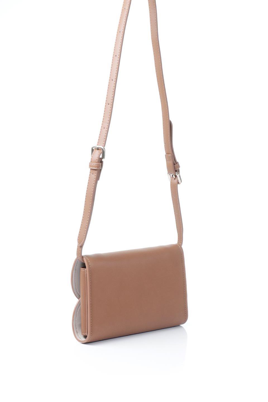 meliebiancoのCleo(Saddle)2Way・ミニショルダーバッグ/海外ファッション好きにオススメのインポートバッグとかばん、MelieBianco(メリービアンコ)のバッグやショルダーバッグ。スマホ+αでのお出かけにピッタリサイズのショルダーバッグ。キャッシュレスを使いこなす方には嬉しいミニサイズのバッグです。/main-3