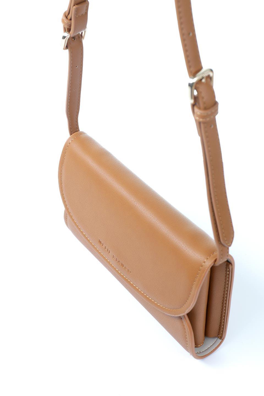 meliebiancoのCleo(Saddle)2Way・ミニショルダーバッグ/海外ファッション好きにオススメのインポートバッグとかばん、MelieBianco(メリービアンコ)のバッグやショルダーバッグ。スマホ+αでのお出かけにピッタリサイズのショルダーバッグ。キャッシュレスを使いこなす方には嬉しいミニサイズのバッグです。/main-7