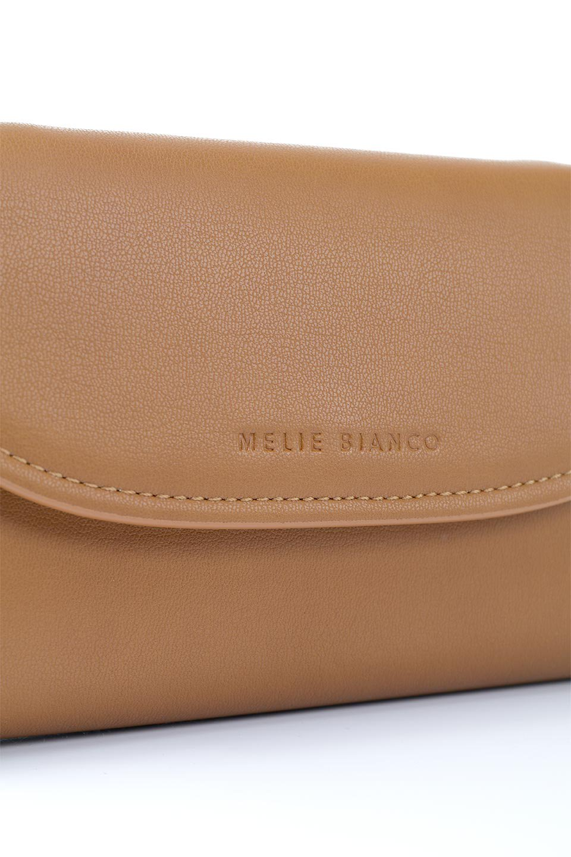 meliebiancoのCleo(Saddle)2Way・ミニショルダーバッグ/海外ファッション好きにオススメのインポートバッグとかばん、MelieBianco(メリービアンコ)のバッグやショルダーバッグ。スマホ+αでのお出かけにピッタリサイズのショルダーバッグ。キャッシュレスを使いこなす方には嬉しいミニサイズのバッグです。/main-8