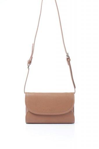 海外ファッションや大人カジュアルのためのインポートバッグ、かばんmelie bianco(メリービアンコ)のCleo (Saddle) 2Way・ミニショルダーバッグ
