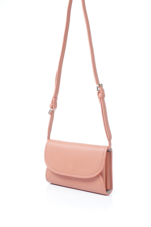 meliebiancoのCleo(Peach)2Way・ミニショルダーバッグ/海外ファッション好きにオススメのインポートバッグとかばん、MelieBianco(メリービアンコ)のバッグやショルダーバッグ。スマホ+αでのお出かけにピッタリサイズのショルダーバッグ。キャッシュレスを使いこなす方には嬉しいミニサイズのバッグです。/main-1