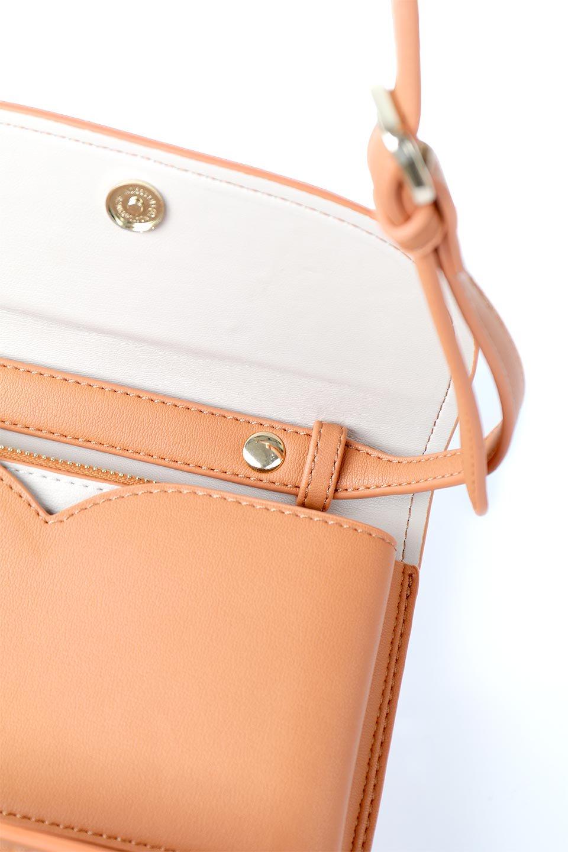 meliebiancoのCleo(Peach)2Way・ミニショルダーバッグ/海外ファッション好きにオススメのインポートバッグとかばん、MelieBianco(メリービアンコ)のバッグやショルダーバッグ。スマホ+αでのお出かけにピッタリサイズのショルダーバッグ。キャッシュレスを使いこなす方には嬉しいミニサイズのバッグです。/main-13
