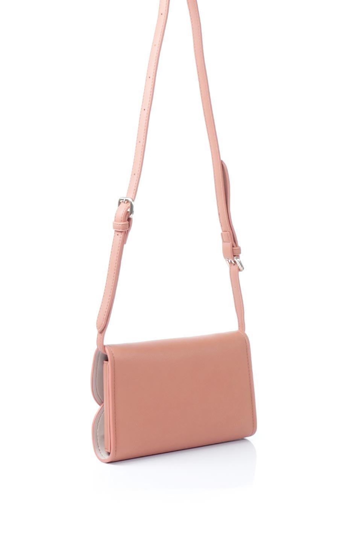meliebiancoのCleo(Peach)2Way・ミニショルダーバッグ/海外ファッション好きにオススメのインポートバッグとかばん、MelieBianco(メリービアンコ)のバッグやショルダーバッグ。スマホ+αでのお出かけにピッタリサイズのショルダーバッグ。キャッシュレスを使いこなす方には嬉しいミニサイズのバッグです。/main-3