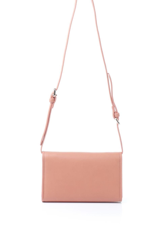 meliebiancoのCleo(Peach)2Way・ミニショルダーバッグ/海外ファッション好きにオススメのインポートバッグとかばん、MelieBianco(メリービアンコ)のバッグやショルダーバッグ。スマホ+αでのお出かけにピッタリサイズのショルダーバッグ。キャッシュレスを使いこなす方には嬉しいミニサイズのバッグです。/main-4