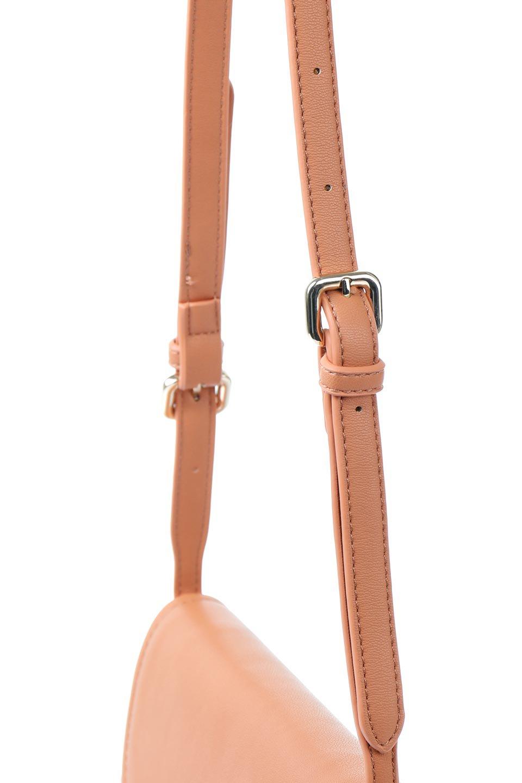 meliebiancoのCleo(Peach)2Way・ミニショルダーバッグ/海外ファッション好きにオススメのインポートバッグとかばん、MelieBianco(メリービアンコ)のバッグやショルダーバッグ。スマホ+αでのお出かけにピッタリサイズのショルダーバッグ。キャッシュレスを使いこなす方には嬉しいミニサイズのバッグです。/main-5