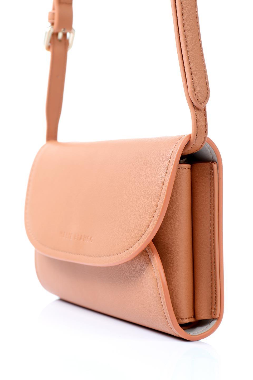 meliebiancoのCleo(Peach)2Way・ミニショルダーバッグ/海外ファッション好きにオススメのインポートバッグとかばん、MelieBianco(メリービアンコ)のバッグやショルダーバッグ。スマホ+αでのお出かけにピッタリサイズのショルダーバッグ。キャッシュレスを使いこなす方には嬉しいミニサイズのバッグです。/main-8