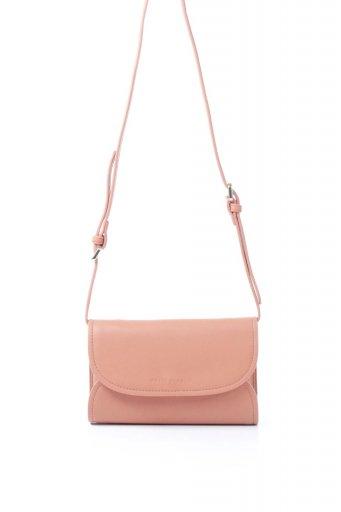 海外ファッションや大人カジュアルのためのインポートバッグ、かばんmelie bianco(メリービアンコ)のCleo (Peach) 2Way・ミニショルダーバッグ