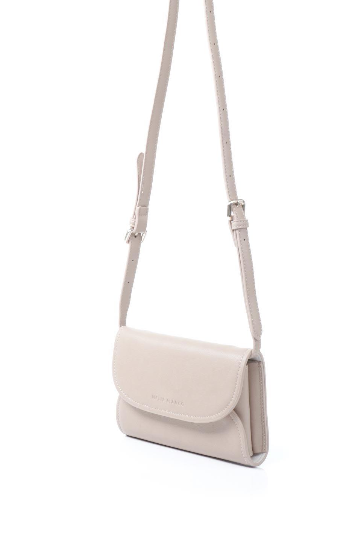 meliebiancoのCleo(Nude)2Way・ミニショルダーバッグ/海外ファッション好きにオススメのインポートバッグとかばん、MelieBianco(メリービアンコ)のバッグやショルダーバッグ。スマホ+αでのお出かけにピッタリサイズのショルダーバッグ。キャッシュレスを使いこなす方には嬉しいミニサイズのバッグです。/main-1