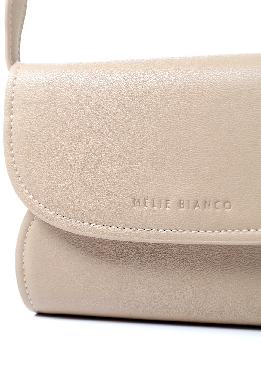 meliebiancoのCleo(Nude)2Way・ミニショルダーバッグ/海外ファッション好きにオススメのインポートバッグとかばん、MelieBianco(メリービアンコ)のバッグやショルダーバッグ。スマホ+αでのお出かけにピッタリサイズのショルダーバッグ。キャッシュレスを使いこなす方には嬉しいミニサイズのバッグです。/main-7