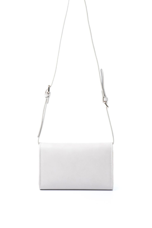 meliebiancoのCleo(Bone)2Way・ミニショルダーバッグ/海外ファッション好きにオススメのインポートバッグとかばん、MelieBianco(メリービアンコ)のバッグやショルダーバッグ。スマホ+αでのお出かけにピッタリサイズのショルダーバッグ。キャッシュレスを使いこなす方には嬉しいミニサイズのバッグです。/main-4