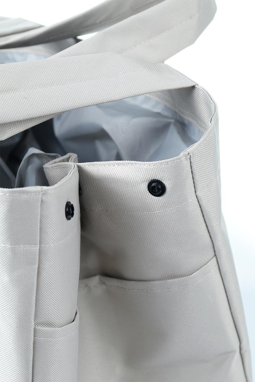 FoldingShoppingCoolerBasket(Greige)保冷保温・折りたたみレジカゴエコバッグ(グレージュ)大人カジュアルに最適な海外ファッションのothers(その他インポートアイテム)のバッグやその他。レジカゴにジャストフィットの折りたたみエコバッグ。保温、保冷効果を高めるアルミ加工で、両サイドのポケットは保冷剤を入れて更に保冷効果を高めることができます。/main-11