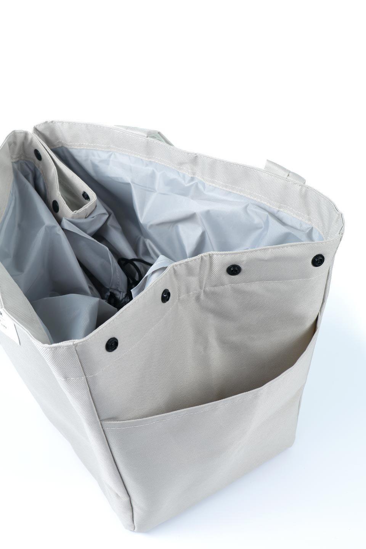FoldingShoppingCoolerBasket(Greige)保冷保温・折りたたみレジカゴエコバッグ(グレージュ)大人カジュアルに最適な海外ファッションのothers(その他インポートアイテム)のバッグやその他。レジカゴにジャストフィットの折りたたみエコバッグ。保温、保冷効果を高めるアルミ加工で、両サイドのポケットは保冷剤を入れて更に保冷効果を高めることができます。/main-12