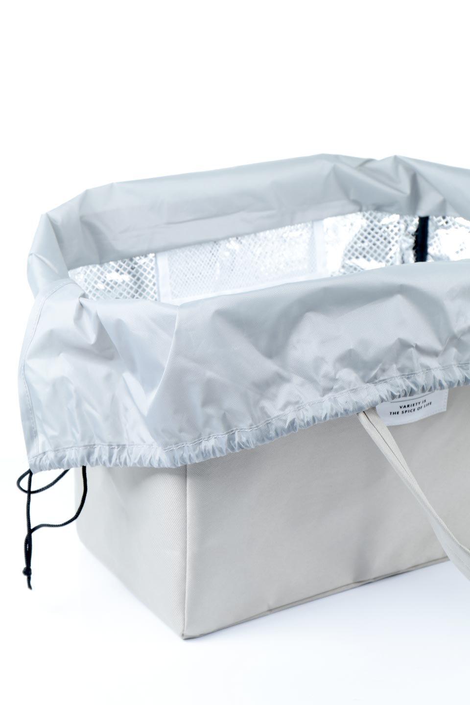 FoldingShoppingCoolerBasket(Greige)保冷保温・折りたたみレジカゴエコバッグ(グレージュ)大人カジュアルに最適な海外ファッションのothers(その他インポートアイテム)のバッグやその他。レジカゴにジャストフィットの折りたたみエコバッグ。保温、保冷効果を高めるアルミ加工で、両サイドのポケットは保冷剤を入れて更に保冷効果を高めることができます。/main-14