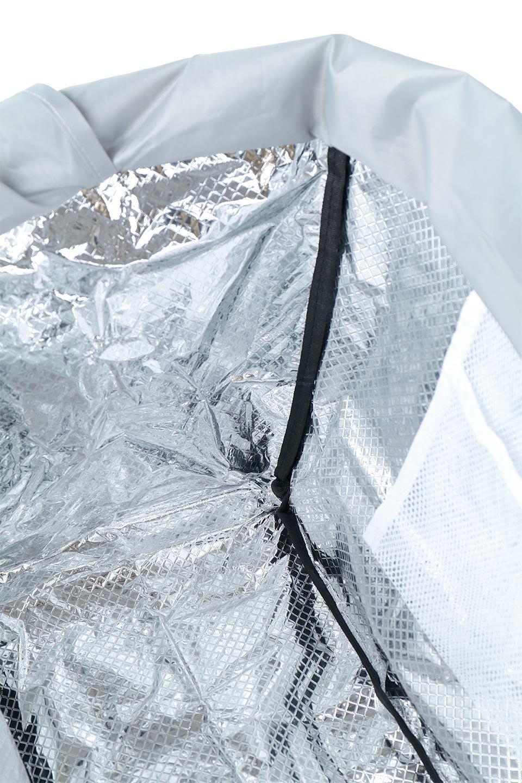 FoldingShoppingCoolerBasket(Greige)保冷保温・折りたたみレジカゴエコバッグ(グレージュ)大人カジュアルに最適な海外ファッションのothers(その他インポートアイテム)のバッグやその他。レジカゴにジャストフィットの折りたたみエコバッグ。保温、保冷効果を高めるアルミ加工で、両サイドのポケットは保冷剤を入れて更に保冷効果を高めることができます。/main-15