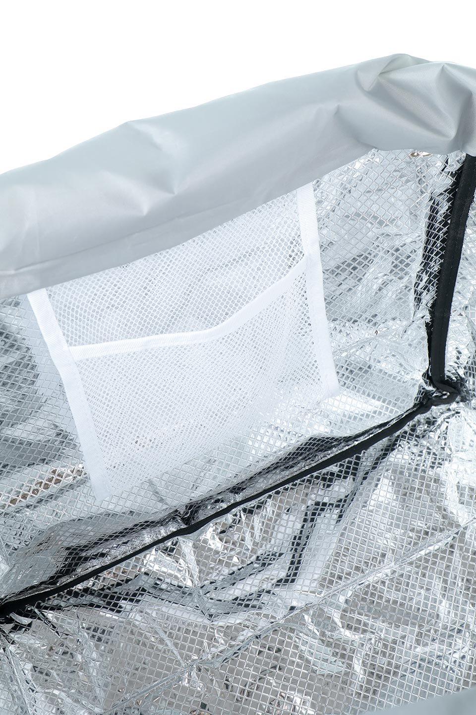 FoldingShoppingCoolerBasket(Greige)保冷保温・折りたたみレジカゴエコバッグ(グレージュ)大人カジュアルに最適な海外ファッションのothers(その他インポートアイテム)のバッグやその他。レジカゴにジャストフィットの折りたたみエコバッグ。保温、保冷効果を高めるアルミ加工で、両サイドのポケットは保冷剤を入れて更に保冷効果を高めることができます。/main-16