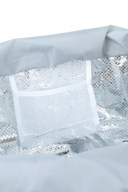 FoldingShoppingCoolerBasket(SmokeGreen)保冷保温・折りたたみレジカゴエコバッグ(スモークグリーン)大人カジュアルに最適な海外ファッションのothers(その他インポートアイテム)のバッグやその他。レジカゴにジャストフィットの折りたたみエコバッグ。保温、保冷効果を高めるアルミ加工で、両サイドのポケットは保冷剤を入れて更に保冷効果を高めることができます。/main-12