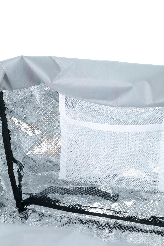 FoldingShoppingCoolerBasket(StripeIceBlue)保冷保温・折りたたみレジカゴエコバッグ(ストライプ・アイスブルー)大人カジュアルに最適な海外ファッションのothers(その他インポートアイテム)のバッグやその他。レジカゴにジャストフィットの折りたたみエコバッグ。保温、保冷効果を高めるアルミ加工で、両サイドのポケットは保冷剤を入れて更に保冷効果を高めることができます。/main-13