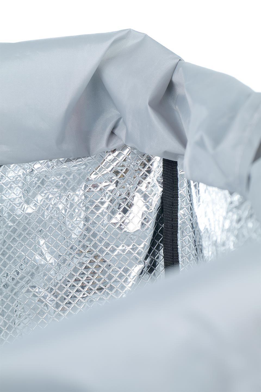 FoldingShoppingCoolerBasket(StripeIceBlue)保冷保温・折りたたみレジカゴエコバッグ(ストライプ・アイスブルー)大人カジュアルに最適な海外ファッションのothers(その他インポートアイテム)のバッグやその他。レジカゴにジャストフィットの折りたたみエコバッグ。保温、保冷効果を高めるアルミ加工で、両サイドのポケットは保冷剤を入れて更に保冷効果を高めることができます。/main-14