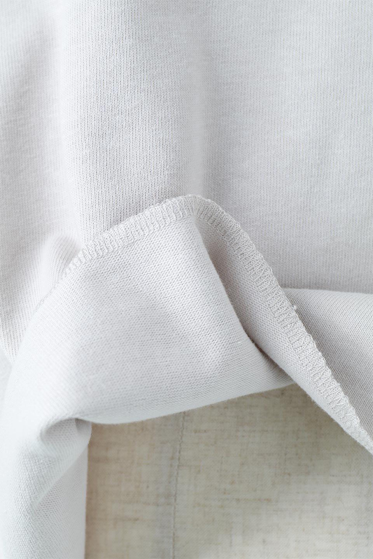 CutOffHalfSleeveBigTeeカットオフ加工・ショート丈トップス大人カジュアルに最適な海外ファッションのothers(その他インポートアイテム)のトップスやカットソー。ルーズなシルエットが魅力の5分袖カットソー。ショート丈でワイドなボックスデザインはTシャツ感覚で着るだけでこなれた雰囲気になります。/main-26