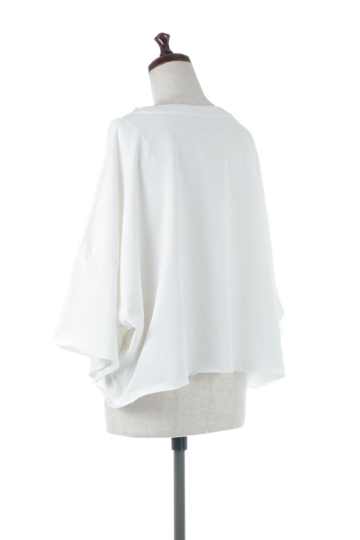 CutOffHalfSleeveBigTeeカットオフ加工・ショート丈トップス大人カジュアルに最適な海外ファッションのothers(その他インポートアイテム)のトップスやカットソー。ルーズなシルエットが魅力の5分袖カットソー。ショート丈でワイドなボックスデザインはTシャツ感覚で着るだけでこなれた雰囲気になります。/main-8
