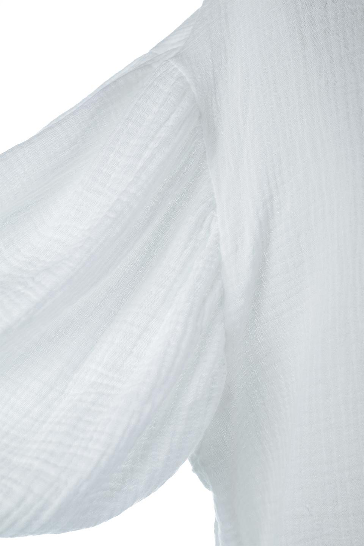 FrilledBackDoubleGauzeBlouseバックフリル・ダブルガーゼブラウス大人カジュアルに最適な海外ファッションのothers(その他インポートアイテム)のトップスやシャツ・ブラウス。フェミニンに決まるバックフリルがポイントのブラウス。綿100%のダブルガーゼの素材を使用してるのでとても柔らかく着心地も◎。/main-15