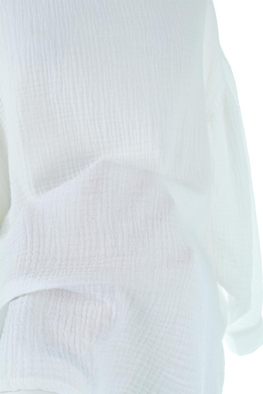 FrilledBackDoubleGauzeBlouseバックフリル・ダブルガーゼブラウス大人カジュアルに最適な海外ファッションのothers(その他インポートアイテム)のトップスやシャツ・ブラウス。フェミニンに決まるバックフリルがポイントのブラウス。綿100%のダブルガーゼの素材を使用してるのでとても柔らかく着心地も◎。/main-19