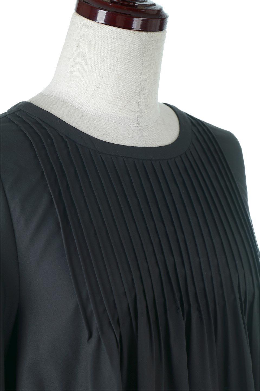 2WayPinTuckFlareBlouse2Way・ピンタックブラウス大人カジュアルに最適な海外ファッションのothers(その他インポートアイテム)のトップスやシャツ・ブラウス。可愛さ要素たっぷりの前後で着れる程よい丈感のシャツブラウス。裾に重みを持たせたフレアー感がとてもチャーミングなアイテムです。/main-5