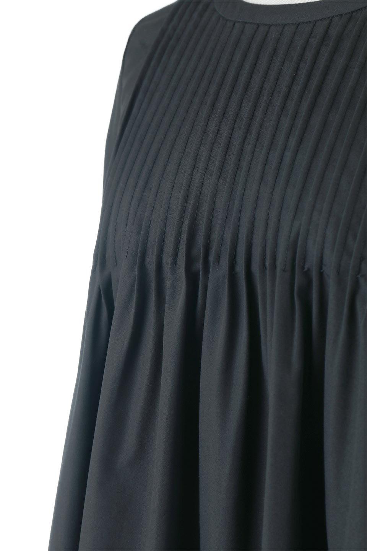 2WayPinTuckFlareBlouse2Way・ピンタックブラウス大人カジュアルに最適な海外ファッションのothers(その他インポートアイテム)のトップスやシャツ・ブラウス。可愛さ要素たっぷりの前後で着れる程よい丈感のシャツブラウス。裾に重みを持たせたフレアー感がとてもチャーミングなアイテムです。/main-6
