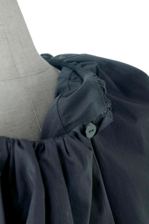 BalloonSleeveGatheredBlouseバルーンスリーブ・ギャザーブラウス大人カジュアルに最適な海外ファッションのothers(その他インポートアイテム)のトップスやシャツ・ブラウス。風船のように丸く膨らませたバルーン袖がポイントの半袖ブラウス。ややハリがありなめらかな質感のシャツ生地で、とても上品でいて柔らかな印象のトップス。/main-10