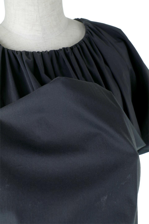 BalloonSleeveGatheredBlouseバルーンスリーブ・ギャザーブラウス大人カジュアルに最適な海外ファッションのothers(その他インポートアイテム)のトップスやシャツ・ブラウス。風船のように丸く膨らませたバルーン袖がポイントの半袖ブラウス。ややハリがありなめらかな質感のシャツ生地で、とても上品でいて柔らかな印象のトップス。/main-12