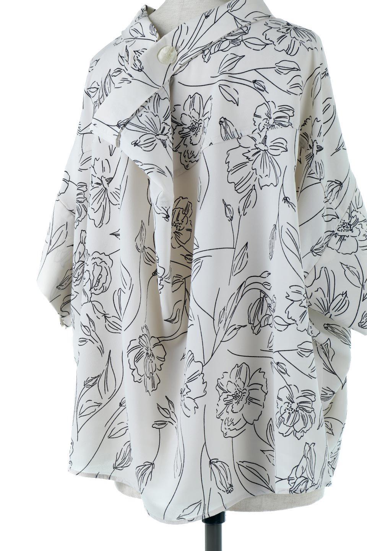 RollNeckBackButtonBlouseロールネック・ドルマンブラウス大人カジュアルに最適な海外ファッションのothers(その他インポートアイテム)のトップスやシャツ・ブラウス。ドルマンスリーブのドレープが綺麗で軽やかな着こなしができる半袖ブラウス。首元から背中にかけてのデザインがとても可愛いアイテムです。/main-18