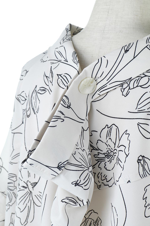 RollNeckBackButtonBlouseロールネック・ドルマンブラウス大人カジュアルに最適な海外ファッションのothers(その他インポートアイテム)のトップスやシャツ・ブラウス。ドルマンスリーブのドレープが綺麗で軽やかな着こなしができる半袖ブラウス。首元から背中にかけてのデザインがとても可愛いアイテムです。/main-20