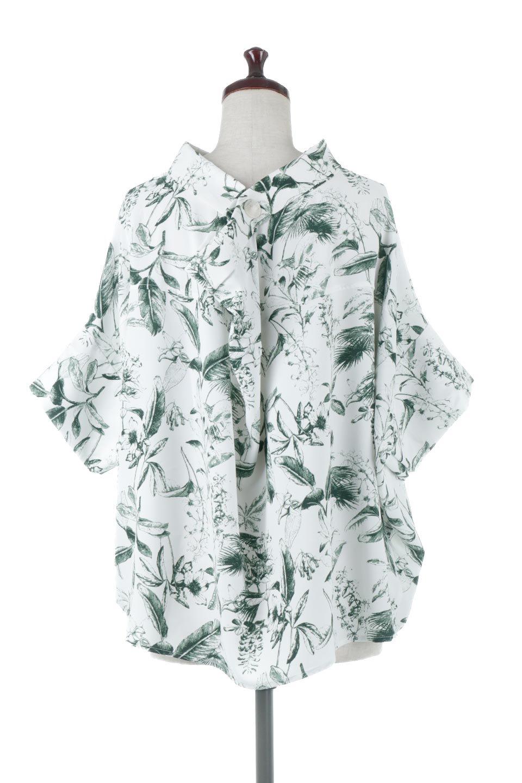 RollNeckBackButtonBlouseロールネック・ドルマンブラウス大人カジュアルに最適な海外ファッションのothers(その他インポートアイテム)のトップスやシャツ・ブラウス。ドルマンスリーブのドレープが綺麗で軽やかな着こなしができる半袖ブラウス。首元から背中にかけてのデザインがとても可愛いアイテムです。/main-9