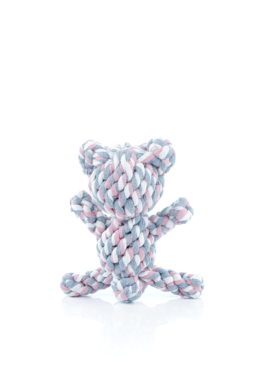 CartoonBeatDogToyカラフルロープのクマ・犬用おもち大人カジュアルに最適な海外ファッションのothers(その他インポートアイテム)のドッググッズやその他。カラフルなロープを使用した犬用の噛み噛みオモチャ。ロープ状のオモチャは歯垢取りにも適しているのでオススメ。/main-2