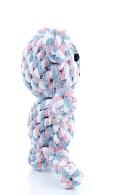 CartoonBeatDogToyカラフルロープのクマ・犬用おもち大人カジュアルに最適な海外ファッションのothers(その他インポートアイテム)のドッググッズやその他。カラフルなロープを使用した犬用の噛み噛みオモチャ。ロープ状のオモチャは歯垢取りにも適しているのでオススメ。/main-6