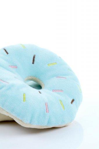 海外ファッションや大人カジュアルに最適なインポートセレクトアイテムのPlush Doughnut Dog Toy カラフルドーナツ・犬用オモチャ