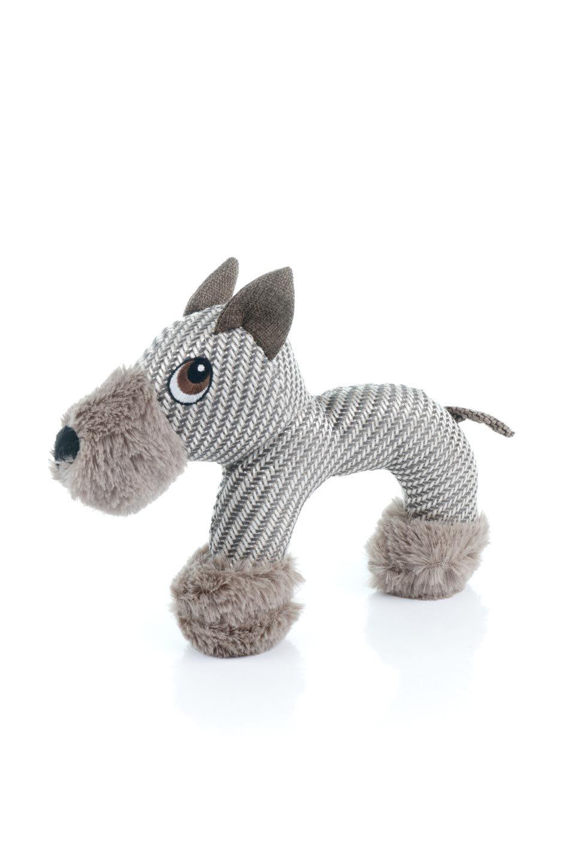 PlushDonkeyDogToyヘリンボーンのロバ・犬用オモチャ大人カジュアルに最適な海外ファッションのothers(その他インポートアイテム)のドッググッズやその他。ヘリンボーン柄が可愛い犬用オモチャ。デフォルメしたデザインとシックなカラーが何となくオシャレなロバさんです。
