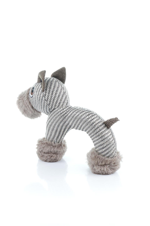PlushDonkeyDogToyヘリンボーンのロバ・犬用オモチャ大人カジュアルに最適な海外ファッションのothers(その他インポートアイテム)のドッググッズやその他。ヘリンボーン柄が可愛い犬用オモチャ。デフォルメしたデザインとシックなカラーが何となくオシャレなロバさんです。/main-1