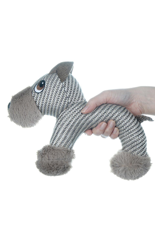PlushDonkeyDogToyヘリンボーンのロバ・犬用オモチャ大人カジュアルに最適な海外ファッションのothers(その他インポートアイテム)のドッググッズやその他。ヘリンボーン柄が可愛い犬用オモチャ。デフォルメしたデザインとシックなカラーが何となくオシャレなロバさんです。/main-12