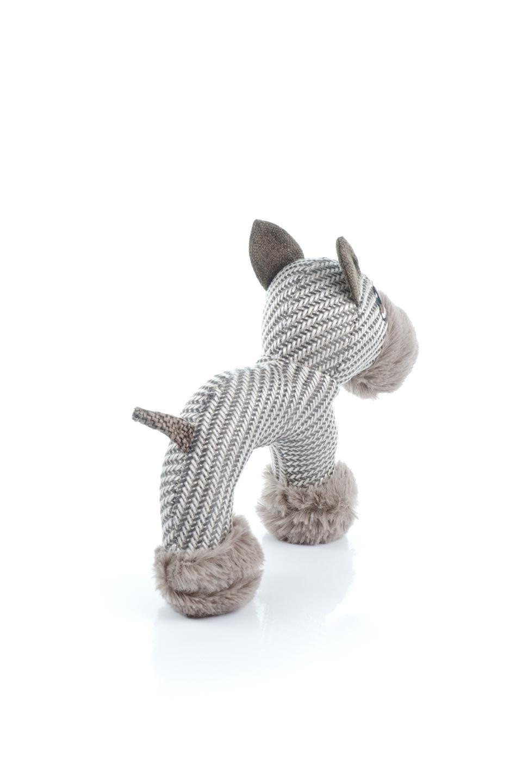 PlushDonkeyDogToyヘリンボーンのロバ・犬用オモチャ大人カジュアルに最適な海外ファッションのothers(その他インポートアイテム)のドッググッズやその他。ヘリンボーン柄が可愛い犬用オモチャ。デフォルメしたデザインとシックなカラーが何となくオシャレなロバさんです。/main-2