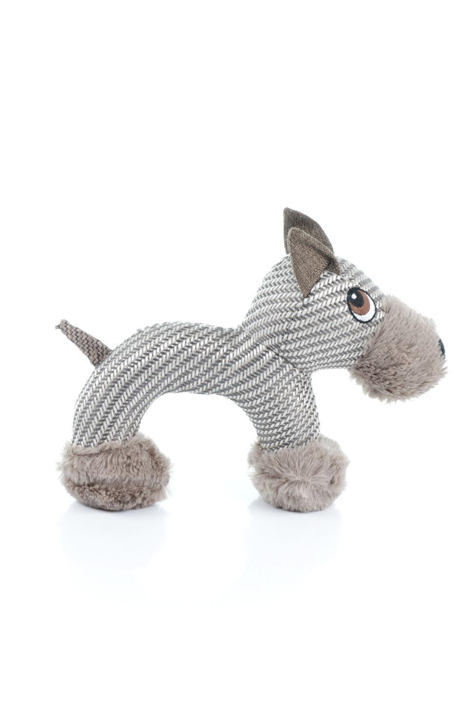 PlushDonkeyDogToyヘリンボーンのロバ・犬用オモチャ大人カジュアルに最適な海外ファッションのothers(その他インポートアイテム)のドッググッズやその他。ヘリンボーン柄が可愛い犬用オモチャ。デフォルメしたデザインとシックなカラーが何となくオシャレなロバさんです。/main-3
