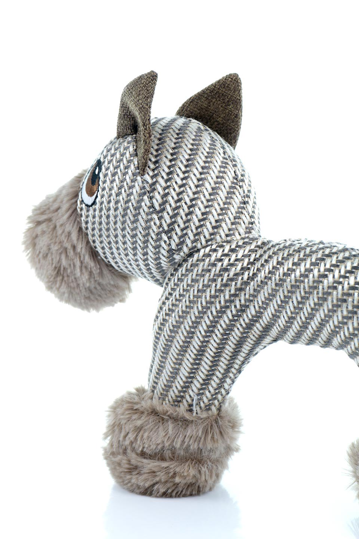 PlushDonkeyDogToyヘリンボーンのロバ・犬用オモチャ大人カジュアルに最適な海外ファッションのothers(その他インポートアイテム)のドッググッズやその他。ヘリンボーン柄が可愛い犬用オモチャ。デフォルメしたデザインとシックなカラーが何となくオシャレなロバさんです。/main-6