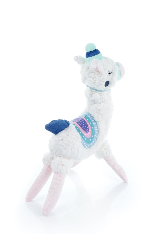 PlushAlpacaDogToy白いアルパカ・犬用オモチャ大人カジュアルに最適な海外ファッションのothers(その他インポートアイテム)のドッググッズやその他。優しそうな表情が可愛いアルパカの犬用オモチャ。ワンちゃんのおもちゃ箱から首を出している姿も可愛いぬいぐるみです。/main-2