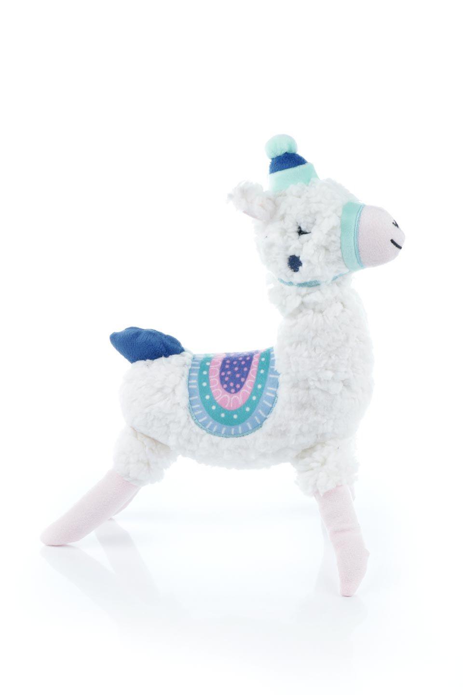 PlushAlpacaDogToy白いアルパカ・犬用オモチャ大人カジュアルに最適な海外ファッションのothers(その他インポートアイテム)のドッググッズやその他。優しそうな表情が可愛いアルパカの犬用オモチャ。ワンちゃんのおもちゃ箱から首を出している姿も可愛いぬいぐるみです。/main-3